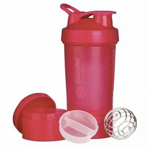 ProStak Shaker Bottle Blender Bottle With Snack Pill Compartment 22oz Pink for Sale in Manhattan Beach, CA