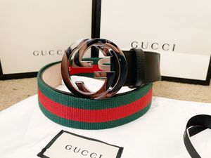 Gg black signature belt for Sale in Milpitas, CA