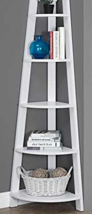 New!! Bookcase, bookshelves, organizer, storage unit , shelving display, living room furniture, white for Sale in Phoenix, AZ