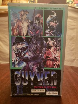 """Steve Wang """"GUYVER"""" Model Kit Action Figure for Sale in Atlantic Highlands, NJ"""