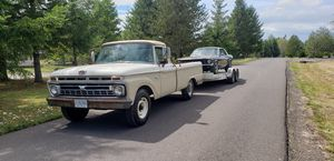 1966 Ford F250 camper special for Sale in Battle Ground, WA