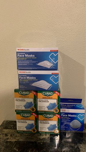 Face Mask!! Bundle (Surgical Mask) for Sale in Federal Way, WA