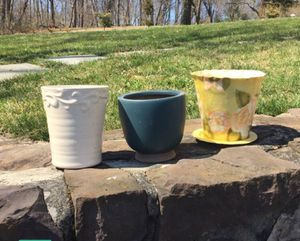 Flower Pots (3) for Sale in West Chester, PA