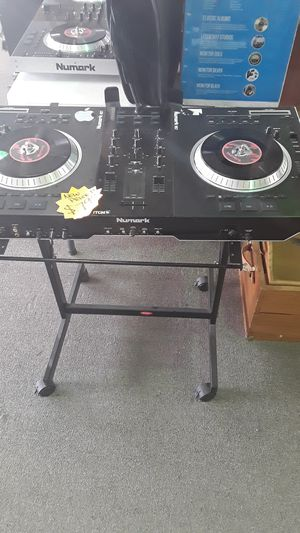 NUMARK DJ equipment with stand. for Sale in Irving, TX