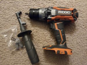 RIDGID 18 v 2 speed hammer drill tool only for Sale in Las Vegas, NV
