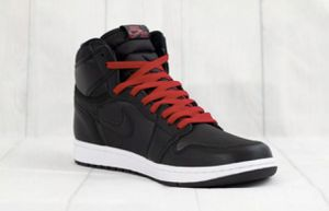 BRAND NEW!! DS Jordan 1 High Black Satin Gym Red for Sale in Vallejo, CA