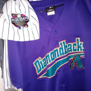 Diamondbacks Logo Athletics Baseball Jersey Purple for Sale in Phoenix, AZ