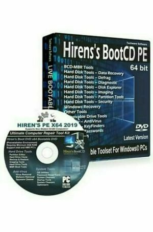 Hiren's version 16.3 Boot CD DVD Computer Repair Recovery Win 7,8,Vista & XP,10 for Sale in Freehold, NJ