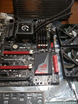 Maximus VI Hero Mobo + i7 4770k +16Gb Ram + Corsair H100 +2 Fans for Sale in Renton,  WA
