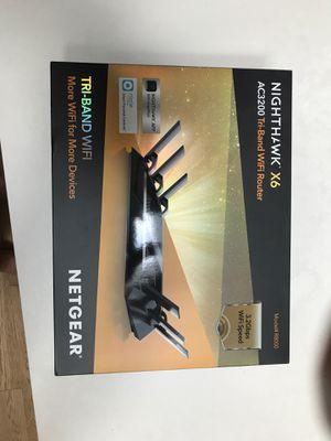 Netgear Nighthawk X6 AC3200 Tri-Band Wi-Fi Router for Sale in Gig Harbor, WA