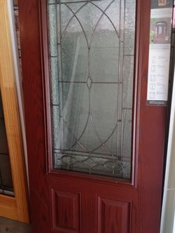 New Fiberglass Front Door 79 Accord High By 35 And 3/4 Wide for Sale in Portland,  OR