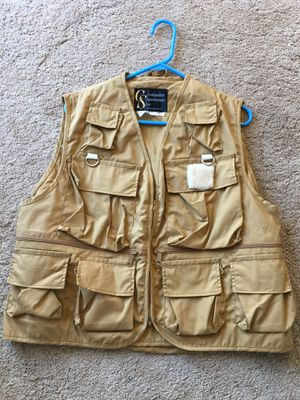 Fishing vest large $20 for Sale in San Jose, CA