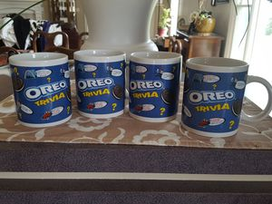 Collectibles Oreo Cookie mug set of 4 for Sale in Tremont, IL