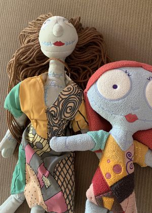 2 Nightmare before Christmas Sally plush/plushies for Sale in Lakewood, CA