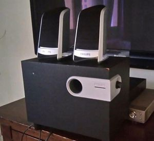 Philips speaker system for Sale in Long Beach, CA