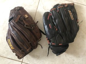 softball gloves for Sale in Davie, FL