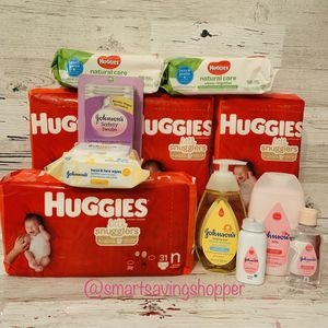 Newborn diaper bundles baby shower gift for Sale in Jacksonville, FL