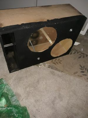 "18"" sub enclosure (( read description for specs)) for Sale in Newark, OH"