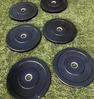 Titan bumper plates brand new never used for Sale in Fontana, CA