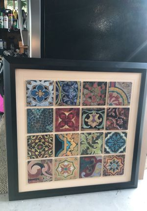Picture Frame with artwork for Sale in Poway, CA