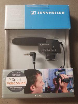 NEW Sennheiser MKE 400 Compact Shootgun Microphone for Sale in Phoenix, AZ