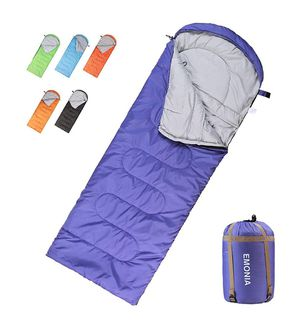 3 Season Waterproof Outdoor Hiking Backpacking Sleeping Bag Perfect for Traveling,Lightweight Portable Envelope Sleeping Bags for Adults,Kids,Girls a for Sale in Fresno, CA