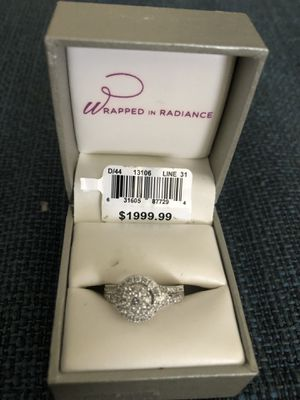 Brand new white gold diamond ring. for Sale in Tampa, FL