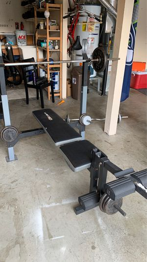 Gym equipment all in good condition for Sale in Mountlake Terrace, WA