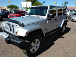 2012 jeep wrangler 4x4 and more WE APPROVE EVERYONE BUY HERE PAY HERE todos califican COMPRE AQUI PAGUE AQUI for Sale in Phoenix, AZ