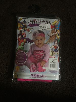 6-12 mo supergirl infant costume for Sale in Salt Lake City, UT