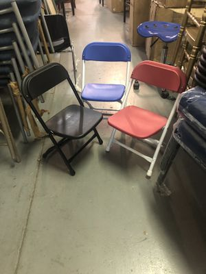 Kids folding chairs $7 each for Sale in Atlanta, GA