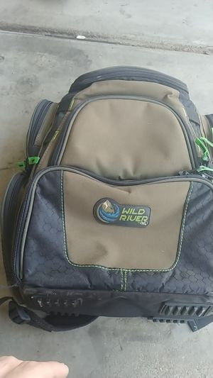 Fishing back pack and rod carrier for Sale in Buckeye, AZ