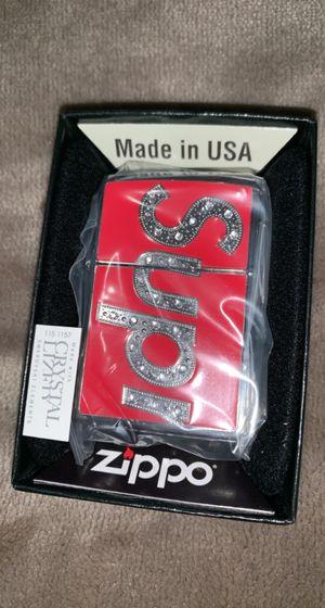 Supreme Swarovski Zippo Lighter for Sale in Los Angeles, CA