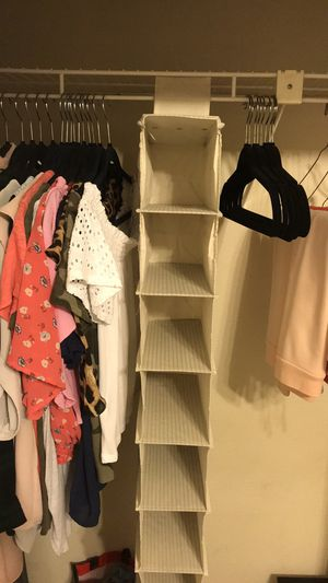 10 self closet organizer for Sale in San Antonio, TX