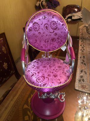 "OUR GENERATION BY BATTAT HOT PINK 18"" DOLL BEAUTY CHAIR FITS AMERICAN GIRL for Sale in Whittier, CA"