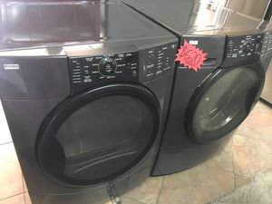 Kenmore Elite He4t Front Load Washer and Dryer Set!!! for Sale in Ontario, CA