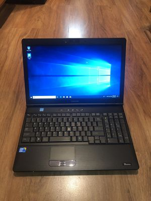 Toshiba TECRA A11 core i3 4GB Ram 160GB Hard Drive 15.6 inch Windows 10 Pro Laptop with charger in Excellent Working condition!!!!!!!! for Sale in Aurora, IL