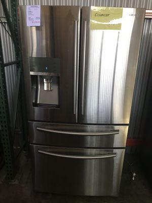 Stainless Steel Samsung Four Door Counter Depth Fridge Refrigerator for Sale in Ontario, CA