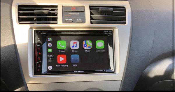 "Pioneer AVH-1300NEX Multimedia DVD Receiver with 6.2"" WVGA Display/Apple CarPlay/Built-in Bluetooth/SiriusXM-Ready/AppRadio Mode +"
