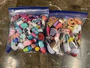 Some Lol Doll Accessories and other small toys for Sale in Clinton Township, MI