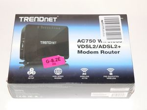 Trendnet AC750 wireless vdsl2/adsl2+ tew-816drm DSL Modem/Router for Sale in San Tan Valley, AZ