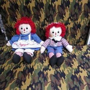 Raggedy Ann And Andy Both For $10 for Sale in Las Vegas, NV