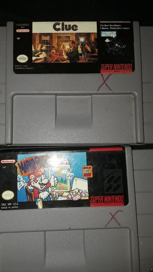 Super Nintendo Games for Sale in Madera, CA