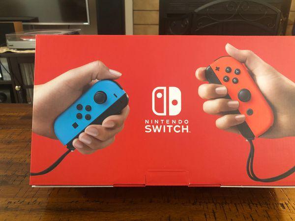 Nintendo Switch Version 2 - New!