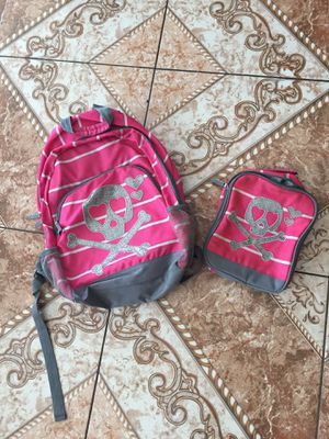 Girls matching backpack lunchbox set for Sale in North Las Vegas, NV