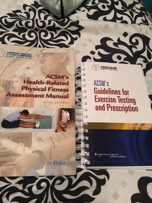 ACSM guidelines books for Sale in Chandler, AZ