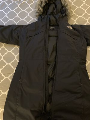 North Face Women's Arctic Down Parka Black Size XL for Sale in North Bethesda, MD