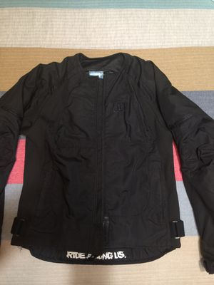 Icon Merc black ladies motorcycle jacket padded for Sale in Glendora, CA