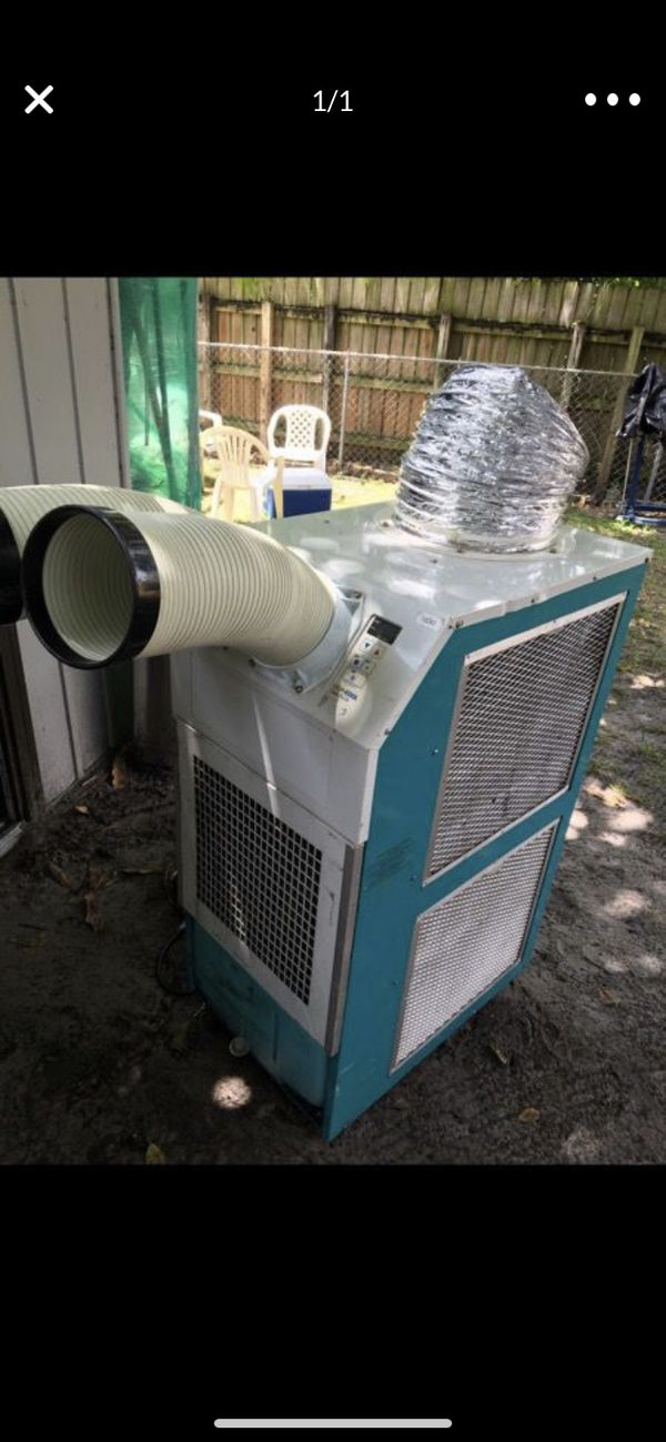 Aire acondicionado portátil para enfriar espacios grandes