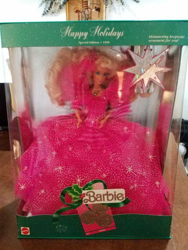 1999 Vintage Christmas Barbie - New